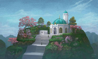 Small mosque by phicek