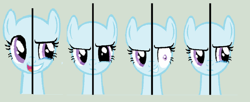 Pony 2 sides base by cutecutederpypony14