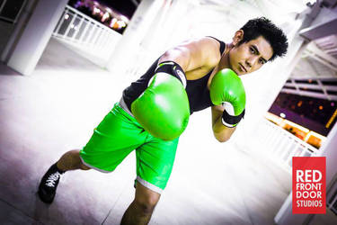 Little Mac Cosplay by EvermorePandemic