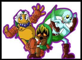 Majora's Mask Unity by Coffeetology