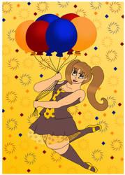 Balloon Girl by bb14