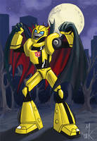 TF:A Halloween Bumblebee by Uniformshark