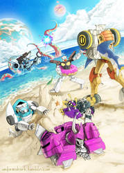 MTMTE Beach Adventures by Uniformshark