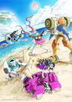MTMTE Beach Adventures by Uniformshark