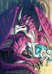 Cyclonus and Tailgate Dragonformers by Uniformshark