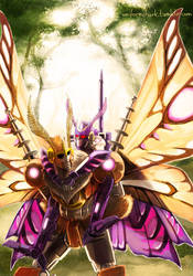 Kaon and Vos Mothformers by Uniformshark