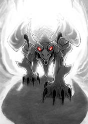 Hungry Dragon by Uniformshark