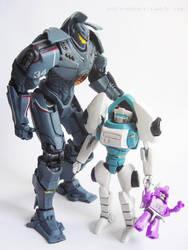 Proud Robot Daddy by Uniformshark