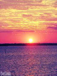 Lakeside Sunset by Bethy-Go-Blah
