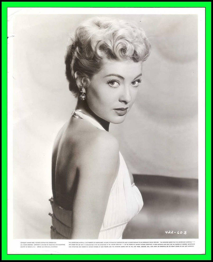 Lori Nelson 1950s Actress By Slr1238 On DeviantArt