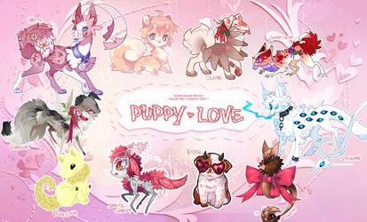 [Vday Advent] Day 1 - Puppy Love by BizarreBazaarList