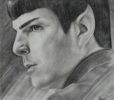 Star Trek Beyond - Spock by yamihoole