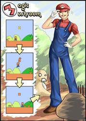 .: Mario - Magic Mushrooms :. by Kaizeru
