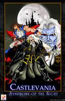 Castlevania Symphony of the Night by whittingtonrhett
