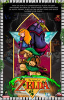 Legend of Zelda NES Poster by whittingtonrhett