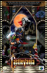 Castlevania 64 OFFICIAL Poster by whittingtonrhett