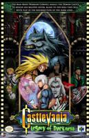 Castlevania Legacy of Darkness official Poster by whittingtonrhett