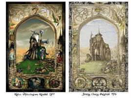 Lord of the Rings Poster Comparison by whittingtonrhett