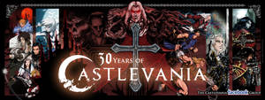 Castlevania 30th Anniversary Cover Photo by whittingtonrhett