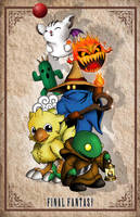 Final Fantasy Creatures by whittingtonrhett