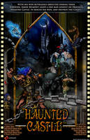 Haunted Castle Poster by whittingtonrhett