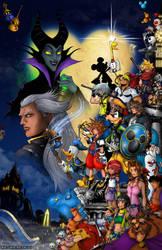 Kingdom Hearts Poster by whittingtonrhett