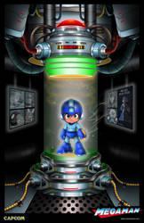 Official Megaman Poster by whittingtonrhett
