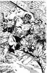 Hulk / Thor by keithv1981