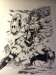 Wonder Woman Ink by keithv1981