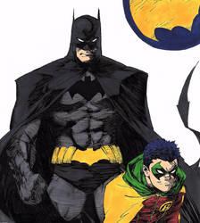 Batman / Robin by keithv1981