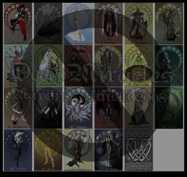 Tarot Deck finished by DeadMiracles