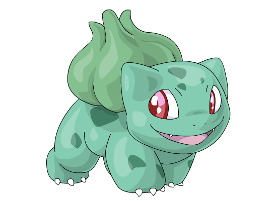 Bulbasaur by jessijoke