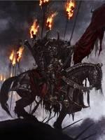 The Black Rider by MajesticChicken