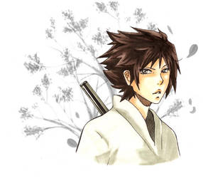 Sasuke Portrait by eltania