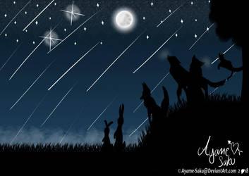Memorial Starshower by Ayame-Saku
