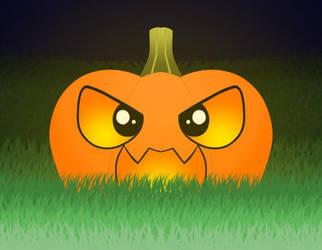 Scutely pumpkin by Ayame-Saku