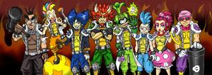 Bowser's Army by CheekySoup4U