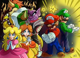 Super Mario Luigi RPG by CheekySoup4U
