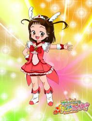 Yura chan, as Smile Precure by jiattmay