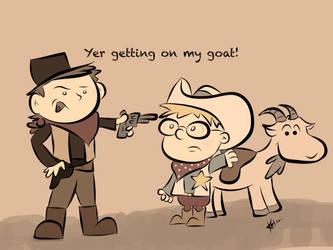 Billy the Kid by starkelstar