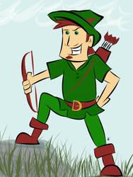 Robin Hood by starkelstar
