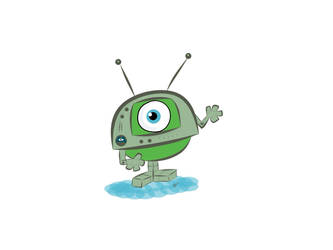 Robotmonster by starkelstar