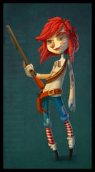 Raggedy Ann by keepsake20