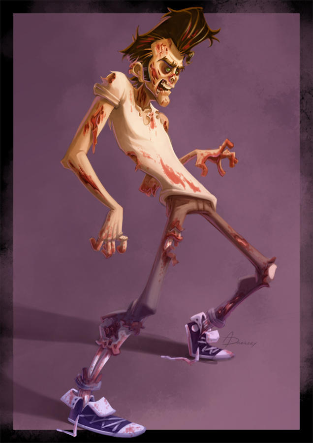 Rockabilly Zombie by keepsake20