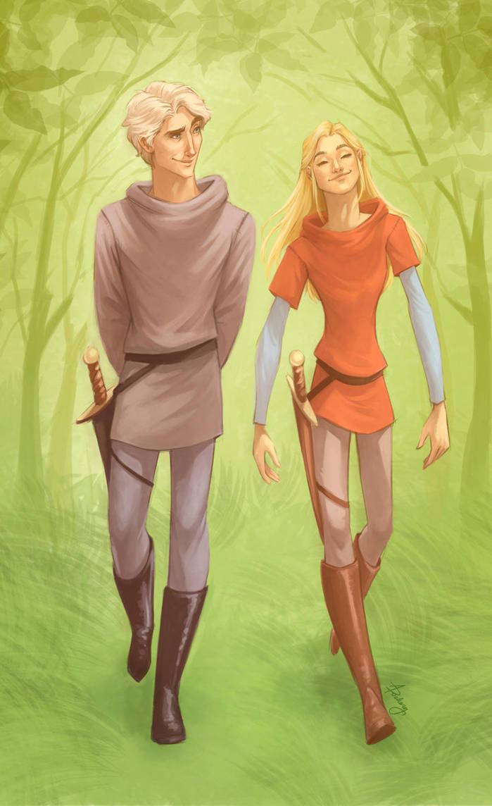 Merlin and Arthur by keepsake20
