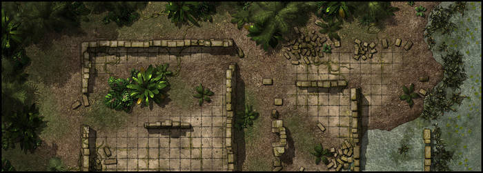 Jungle Ruin Sample by Madcowchef