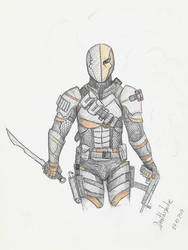 Deathstroke by Nyradir