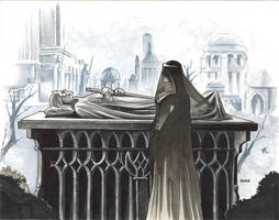Arwen Mourns by kohse