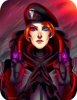 Blackwatch Moira by Hyldenia