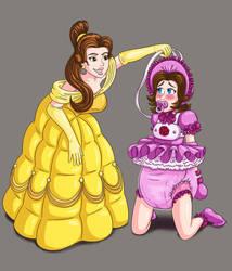 Belle In Control By Jamjarmonster by jamjarmonsterFAN